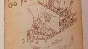 El cuaderno de bitácora del Kon-Tiki.