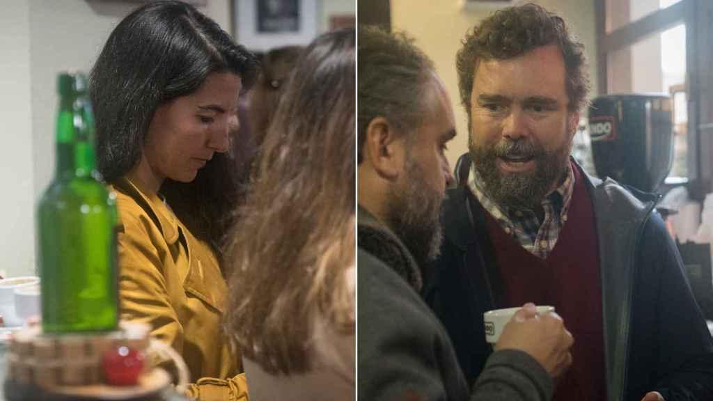 Rocío Monasterio e Iván Espionsa de los Monteros se fueron a un bar tras ser expulsados del palco de autoridades.