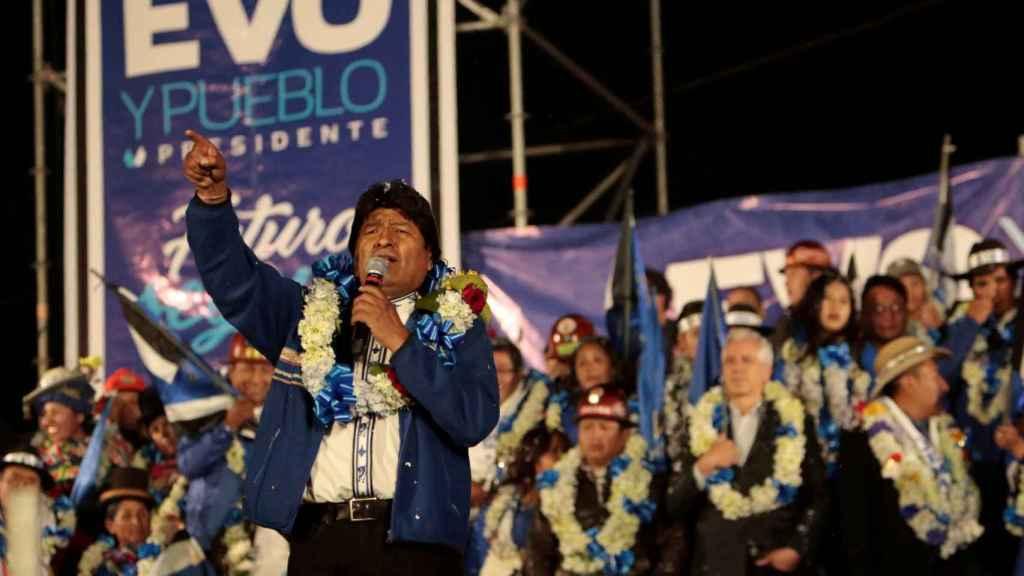 Evo Morales intentará repetir mandato por cuarta vez.
