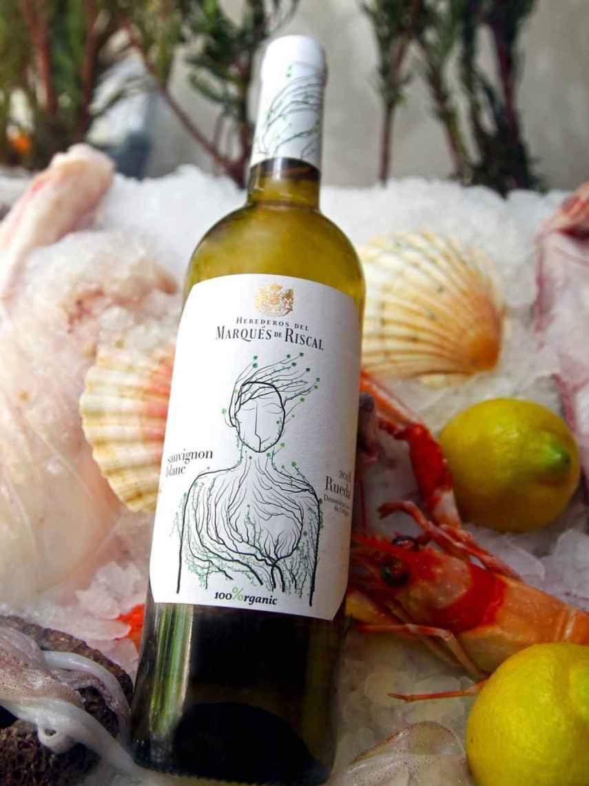 Marqués de Riscal Sauvignon Blanc 2018 100% Organic.