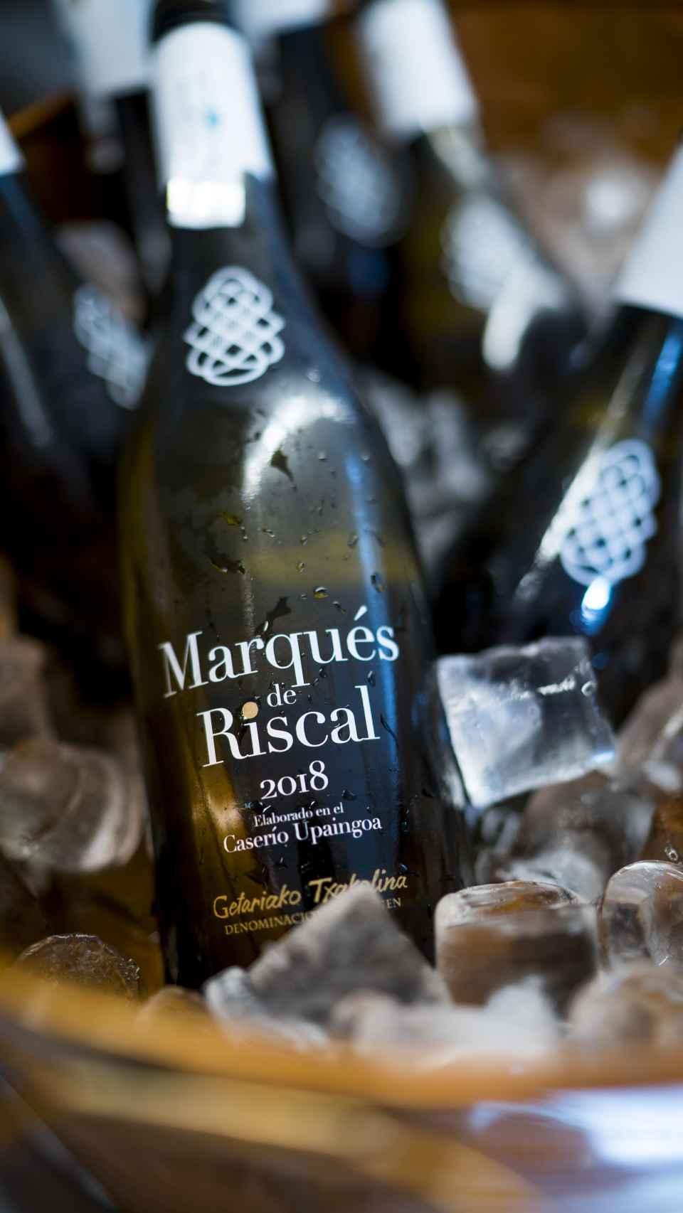 Txacoli Marqués de Riscal 2018.