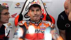 Jorge Lorenzo, durante el Gran Premio de Japón
