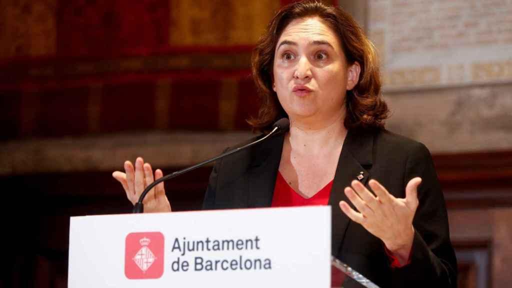 Ada Colau, alcaldesa de Barcelona.