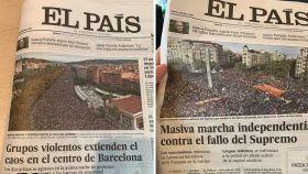 Portadas del diario El País, en una imagen de archivo.