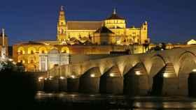 Imagen del puente romano de Córdoba.