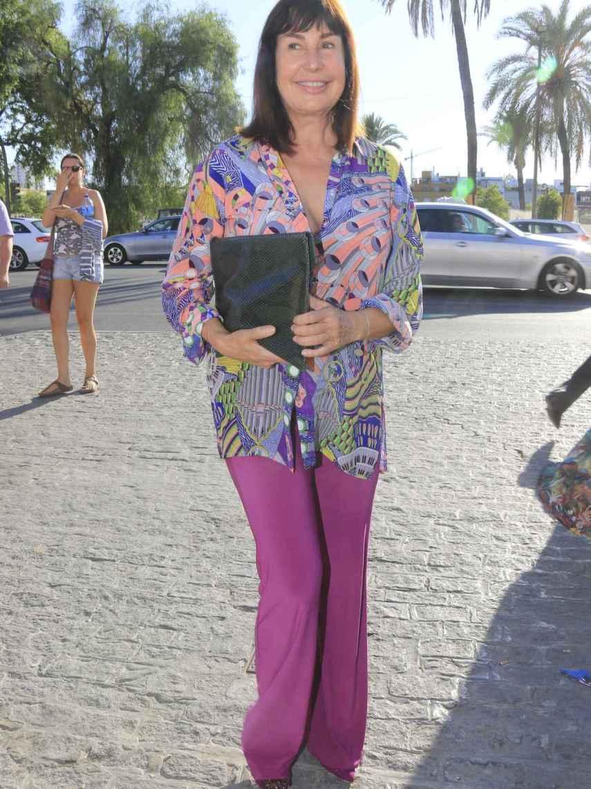 Carmen Martínez Bordiú es la nieta mayor de Francisco Franco.