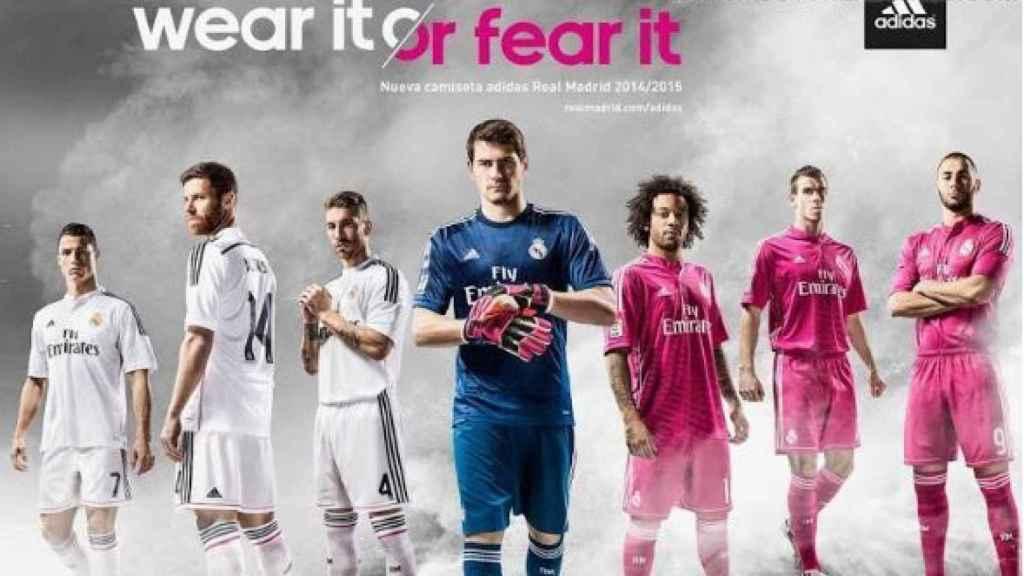 Camiseta 2014-15 del Real Madrid