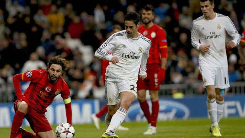 Isco y Bale frente al Galatasaray en 2013