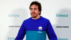 Fernando Alonso en Madrid