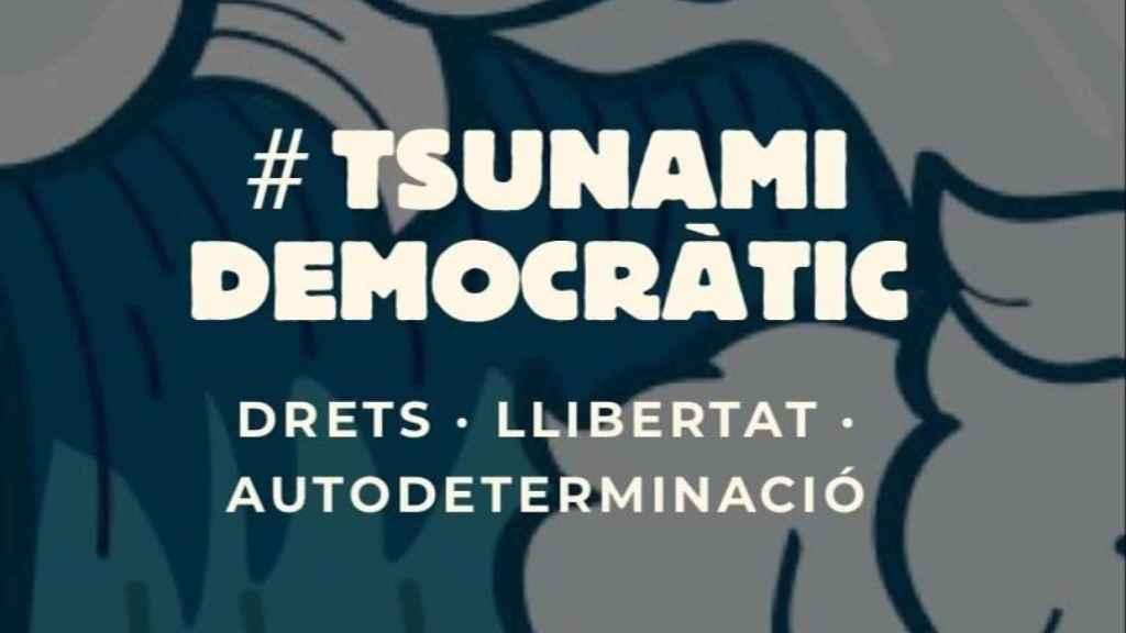 Tsunami Democràtic llamó a movilizaciones tras la sentencia del procés.