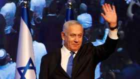 Benjamin Netanyahu, líder del Likud.