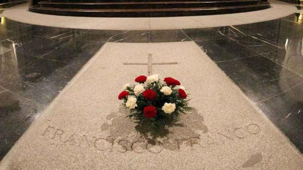La tumba de Francisco Franco en el Valle de los Caídos