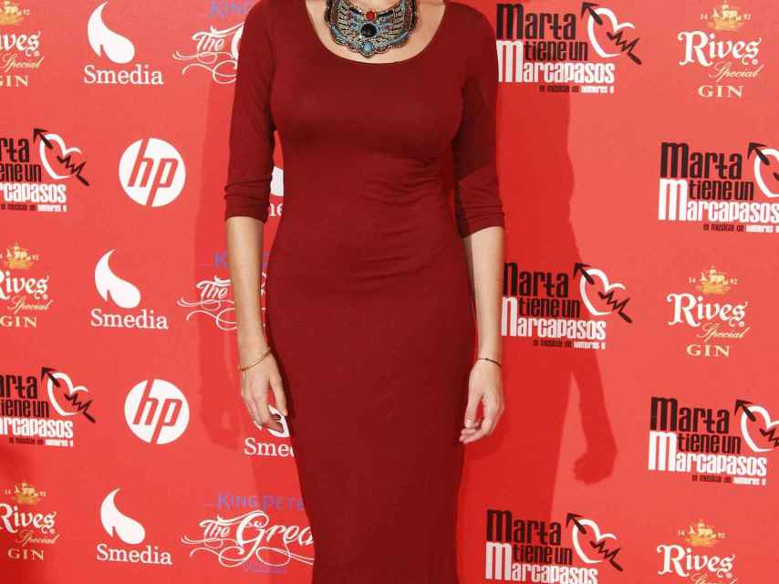 La presentadora Rocío Madrid es una de las concursantes de 'Tu cara me suena 8'.