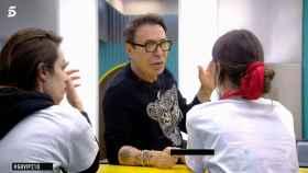 El Maestro Joao y Estela Grande durante su conversación en 'Gran Hermano VIP'.