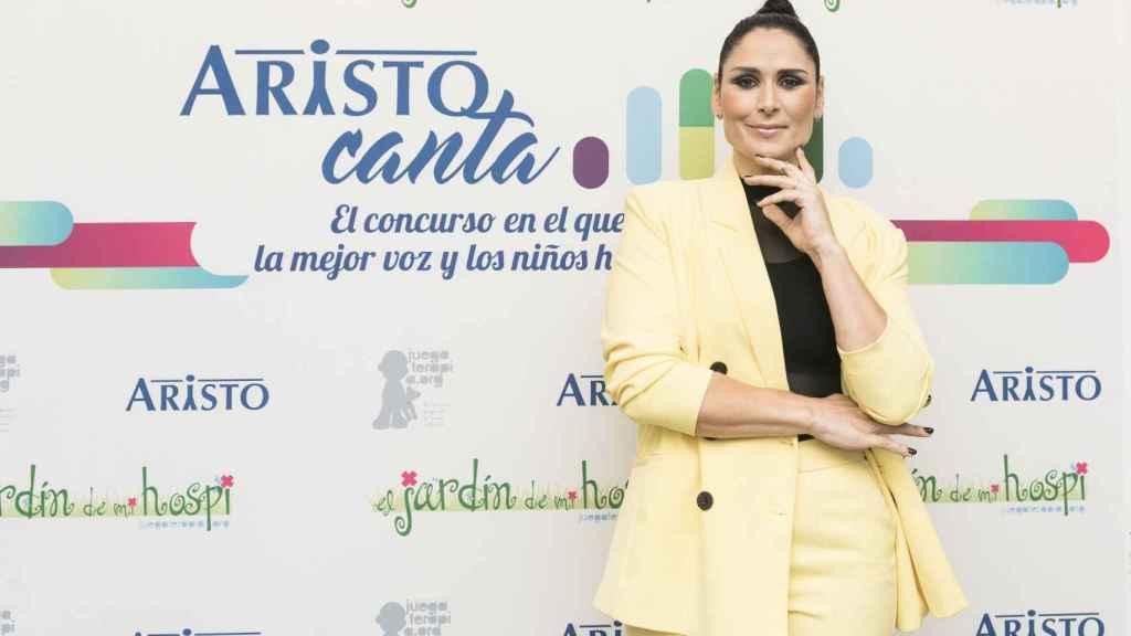 Rosa López, embajadora de Aristo Canta.