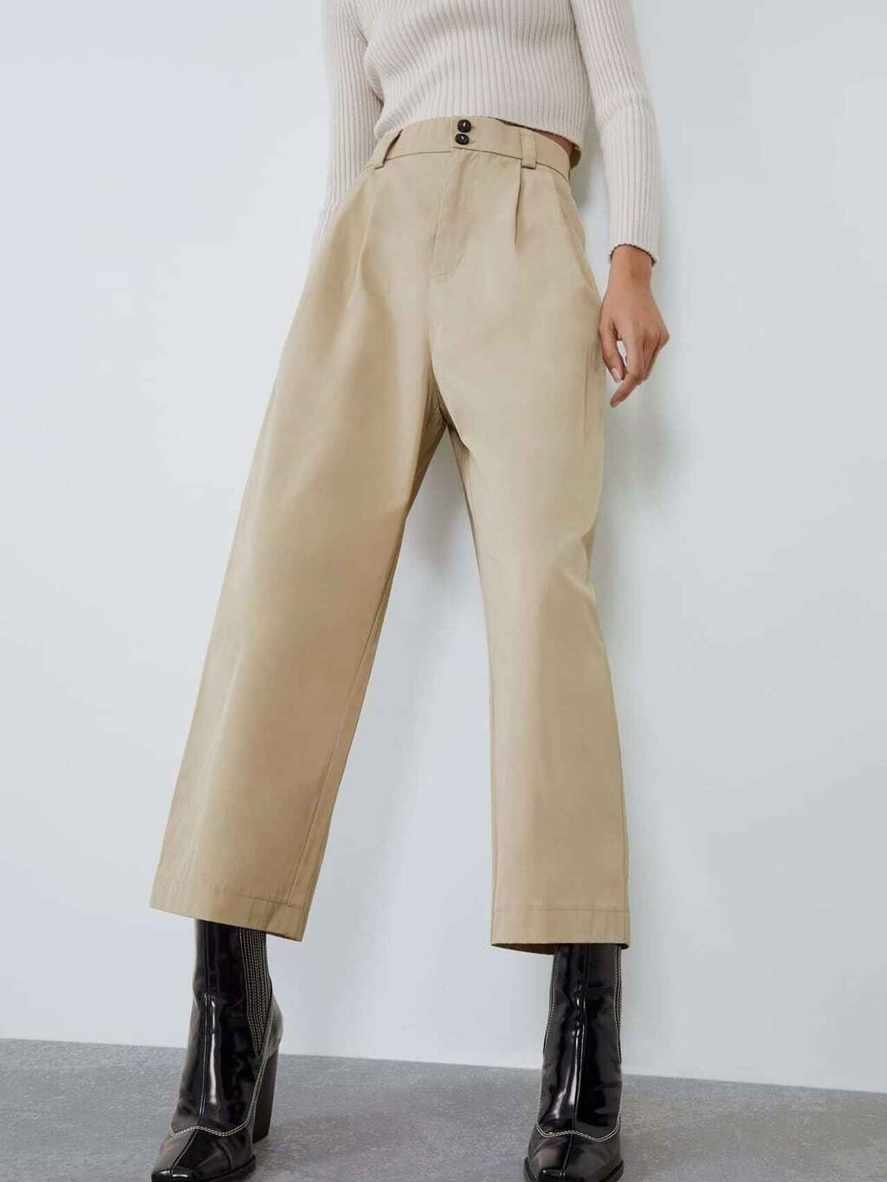 Tienes 12 99 Euros Pues Zara Te Da Los Pantalones Mas Deseados Del Otono