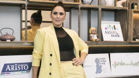 Rosa López en el evento de presentación de Aristo Canta.