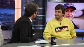 Pablo Motos regatea a Fernando Alonso un descuento para su marca de ropa Kimoa