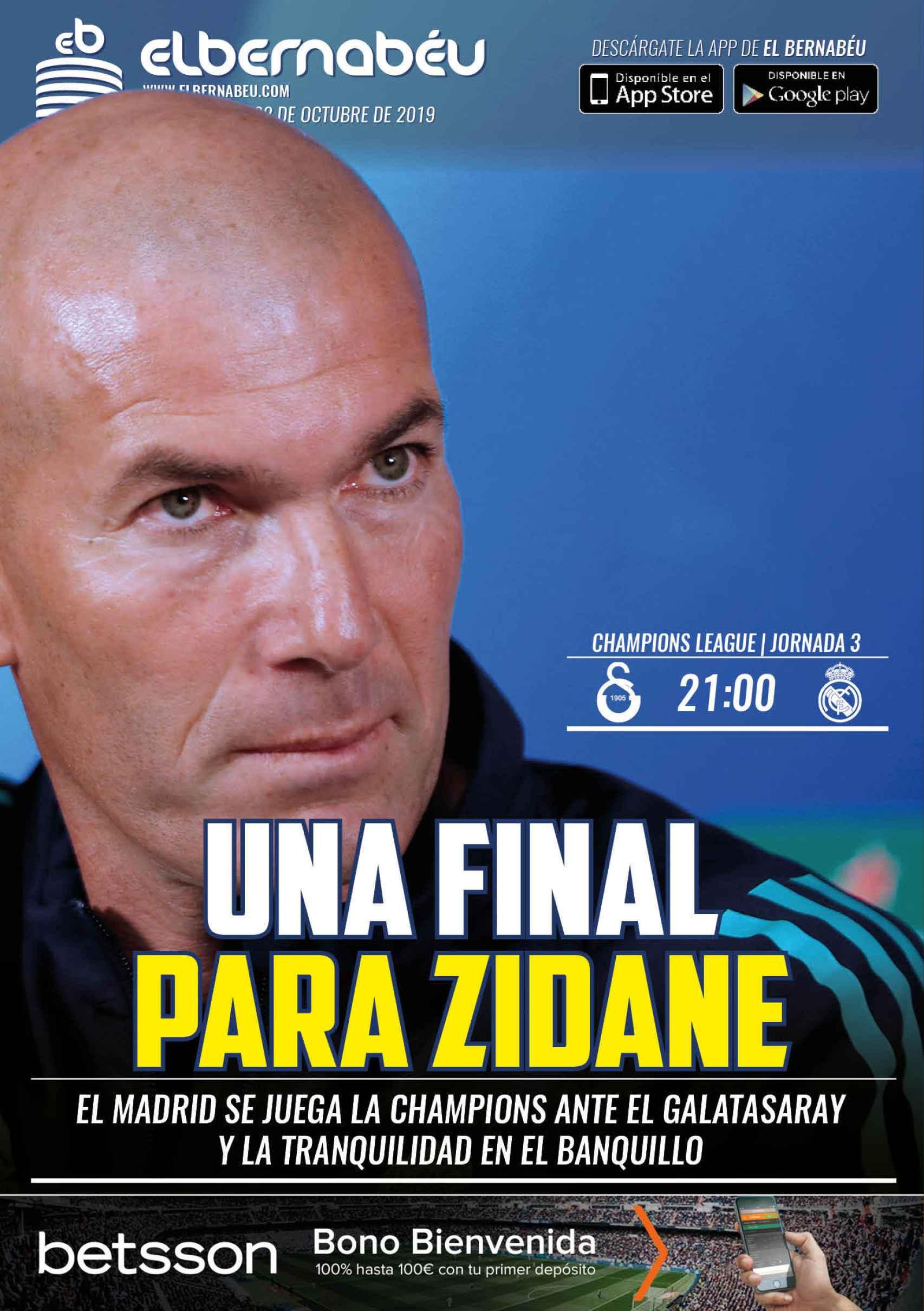 La portada de El Bernabéu (22/10/2019)