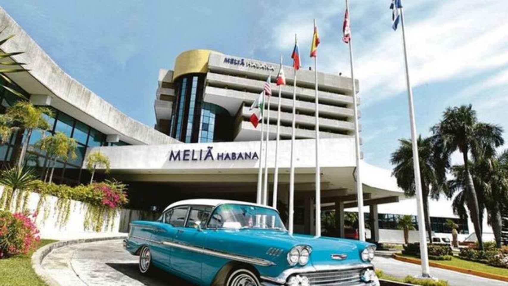 Un establecimiento de Meliá Hotels en Cuba.