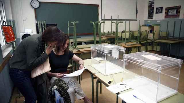 Una mesa electoral en las elecciones generales del pasado junio.