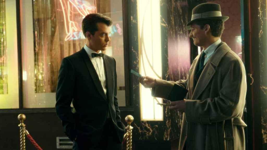 Alfred Pennyworth y Thomas Wayne.