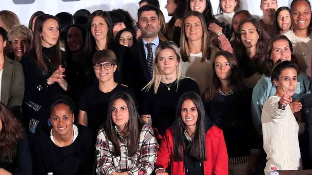 El fútbol femenino español va a la huelga
