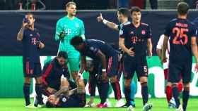 Lucas Hernández se lesiona con el Bayern Múnich