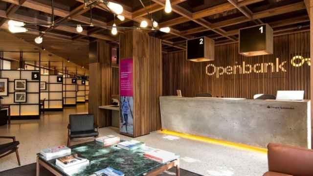 Una oficina de Openbank.