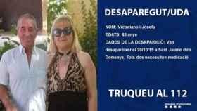 Hallan muerto al matrimonio desaparecido el domingo en Tarragona