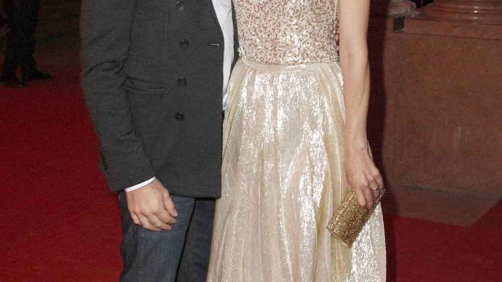 Raquel Sánchez Silva y Mario Biondo en una imagen de archivo.