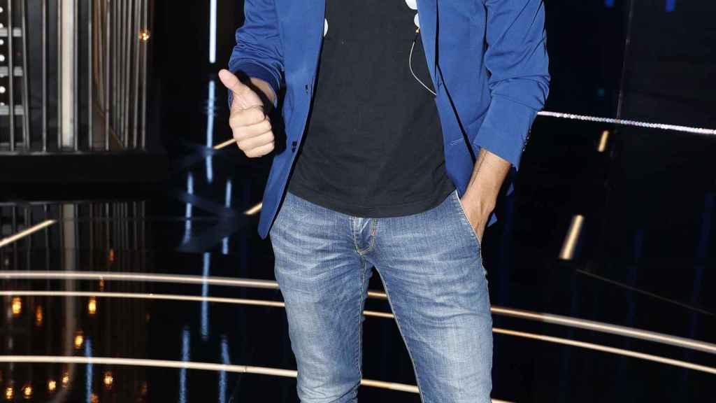 Antonio Tejado en el plató del programa 'Gran Hermano DÚO' donde participó.