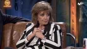 Teresa Campos durante su visita al programa de David Broncano.