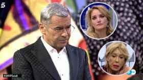 Jorge Javier Vázquez, muy enfadado con Alba y Mila en 'GH VIP'.