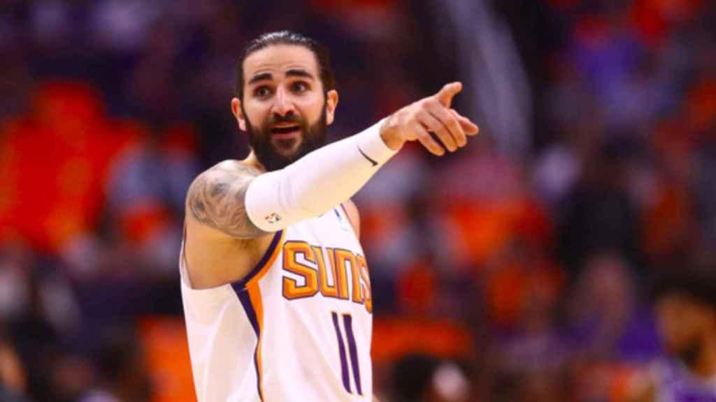Ricky Rubio, con los Phoenix Suns