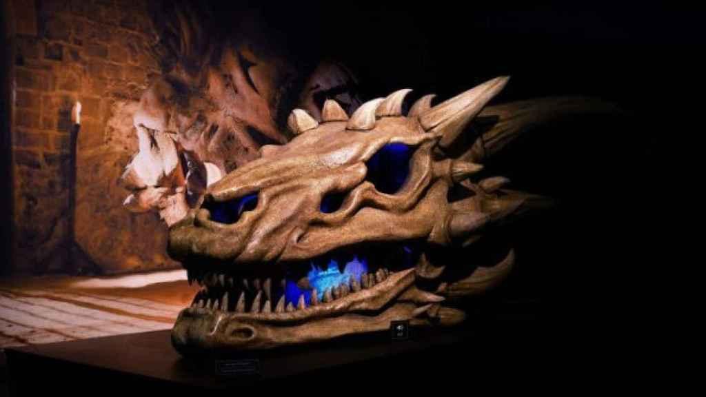 La cabeza de dragón.