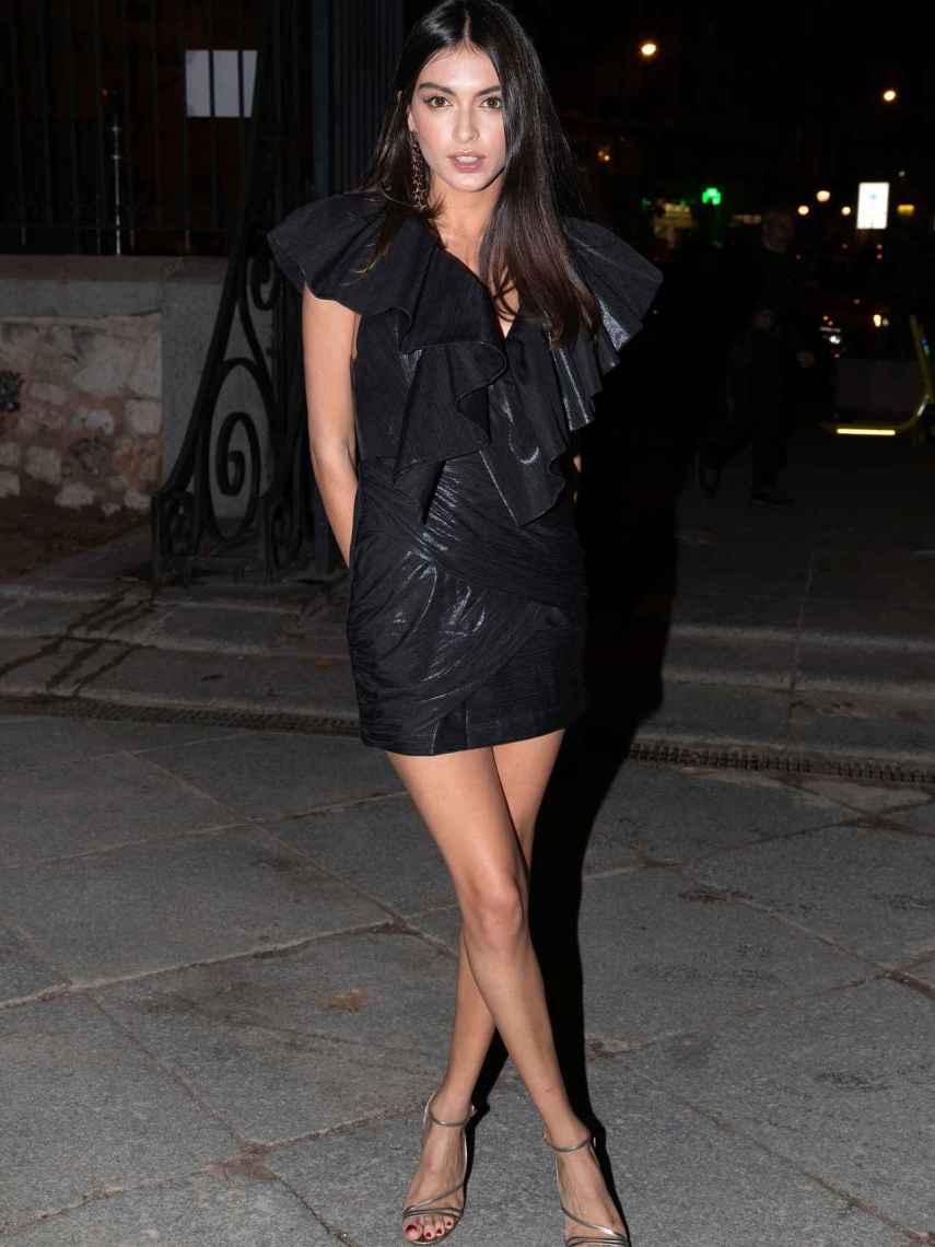 Lucía Rivera en la fiesta de los premios Cosmopolitan.