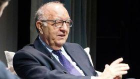 El historiador Ricardo García Cárcel, durante una conferencia en Madrid hace unos meses.