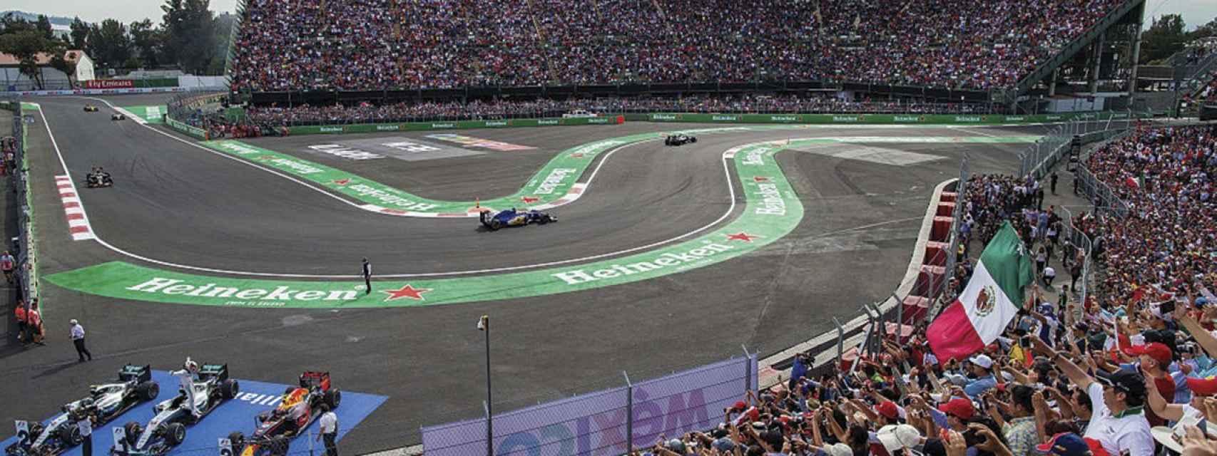 Gradas del Gran Premio de México de Fórmula 1