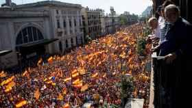 Imagen de la manifestación del 8 de octubre de 2017 en Barcelona.