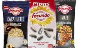 Varios productos de Facundo.