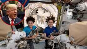 Las astronautas tienen remachadoras espaciales y saben como usarlas.