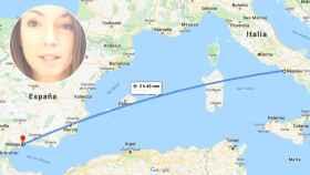 Inmaculada quería viajar hasta Málaga; el problema comenzó cuando hizo escala en Francia.
