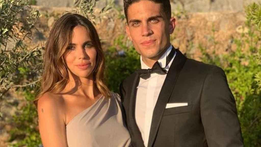 Marc Bartra y Melissa Jiménez se han convertido en padres por tercera vez.