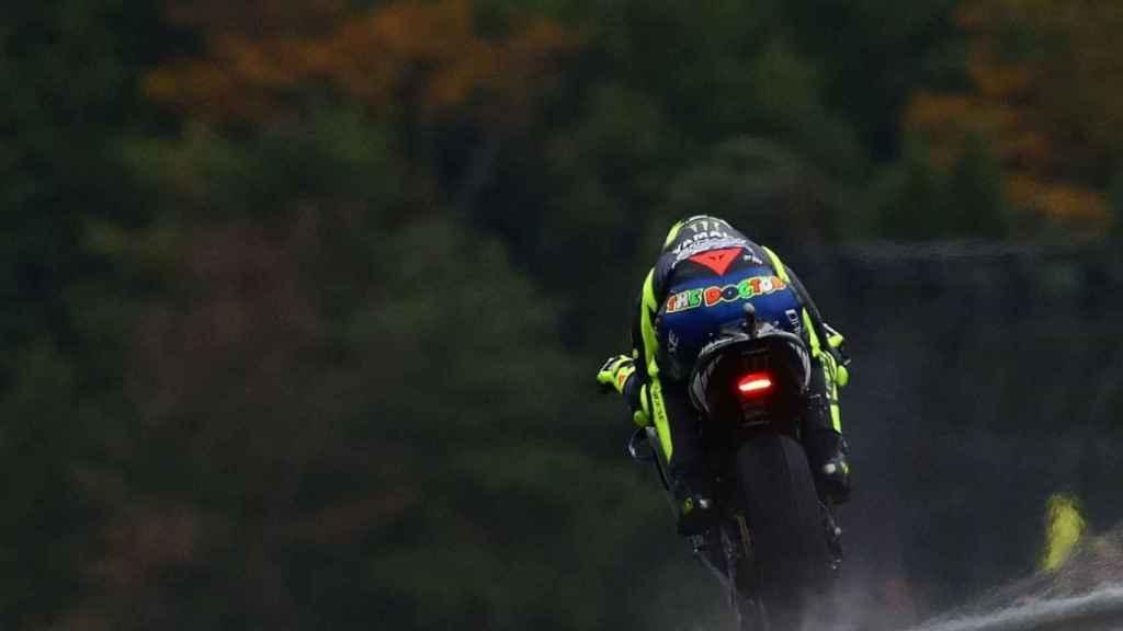 Valentino Rossi, en Phillip Island