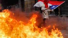 Miles de personas se manifiestan en Chile.