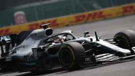 Lewis Hamilton, durante el GP de México de Fórmula 1