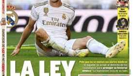La portada del diario MARCA (28/10/2019)