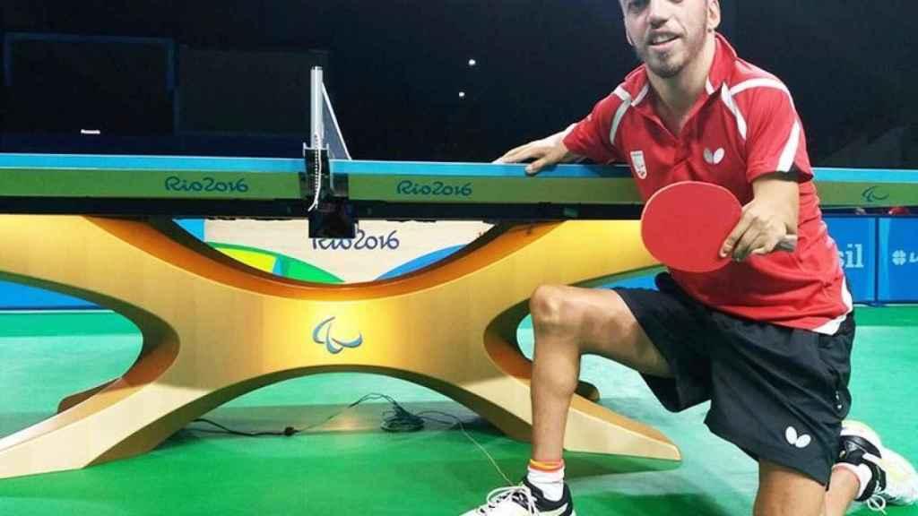 Alberto Seoane, durante los JJOO de Río