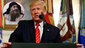 Donald Trump y Al Baghdadi.